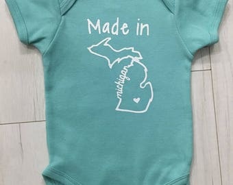 Made In Michigan >> Made In Michigan Etsy