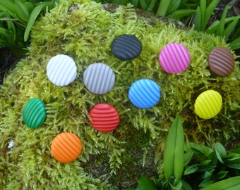 Rubber buttons