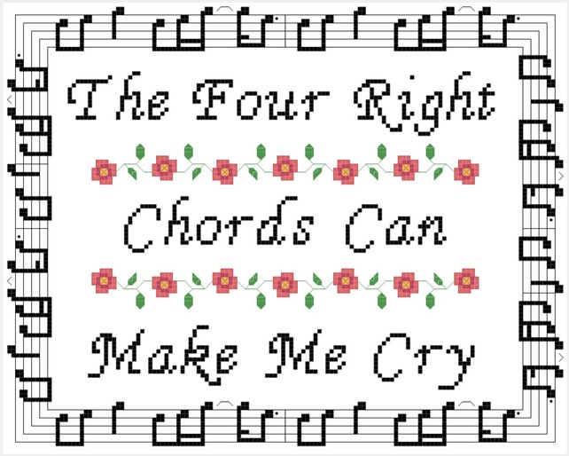 Semi-Charmed Life Inspired Cross Stitch PATTERN | Etsy