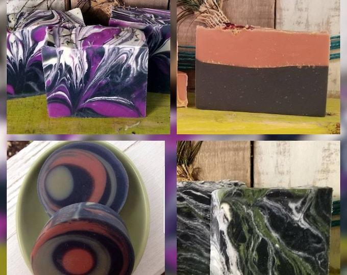 4 Handmade Soap Bundle