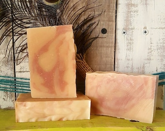 Raspberry Porter Beer Soap