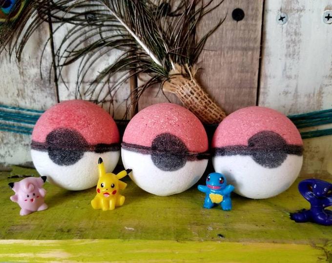 Pokemon Toy Bath Bomb