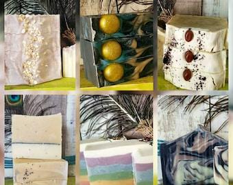 10, 50, 100 Lye Soap Favors or Wholesale