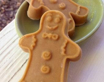 Gingerbread Man Cold Process Lye Soap