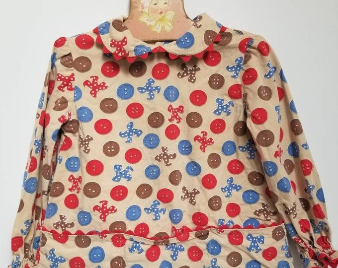 Featured listing image: Vintage childrens blouse. Approx size 4