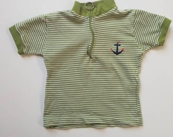 Vintage nautical inspired toddler top. Approx size 2 possibly 3
