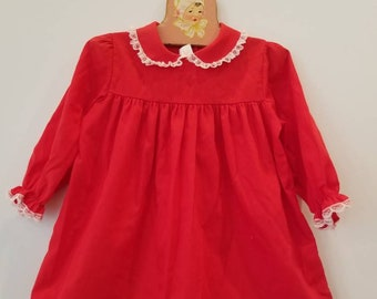Vintage baby dress. Approx size 18-24 months