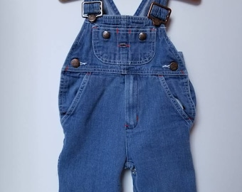 Vintage Mc Donalds overalls Approx size 6-12 months 13.5-23 lbs