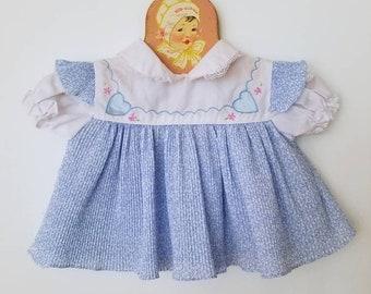 Vintage newborn baby dress.