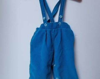Vintage corduroy overalls. Approx 6 months