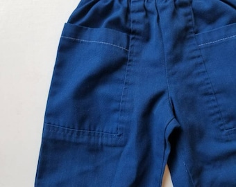 Vintage unisex toddler pants. Approx size 2/3
