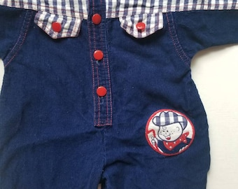 Vintage Western styled baby suit. Approx size 6-9 months