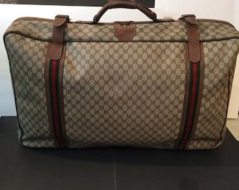 58493fa868e2eb Vintage monogram Gucci luggage bag