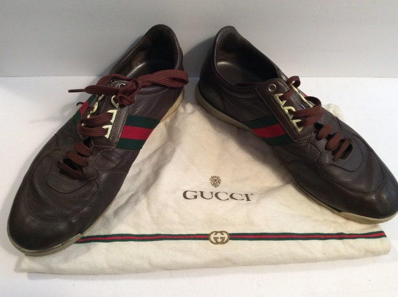 d645c86f090 Vintage Gucci men s sneakers size 11 G
