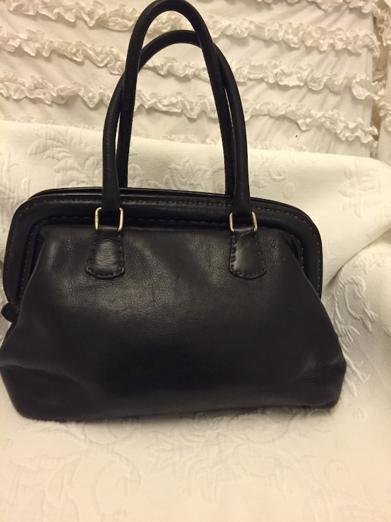 ... ebay reduced vintage fendi selleria black leather bag etsy a528b 20813