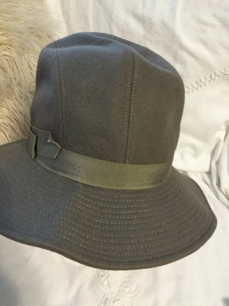 bda3d16269986 Ysl grey bucket hat