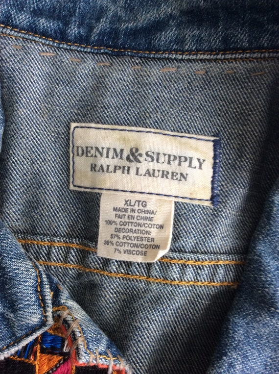 Vintage Ralph Lauren Denim & Supply tribal denim … - image 6