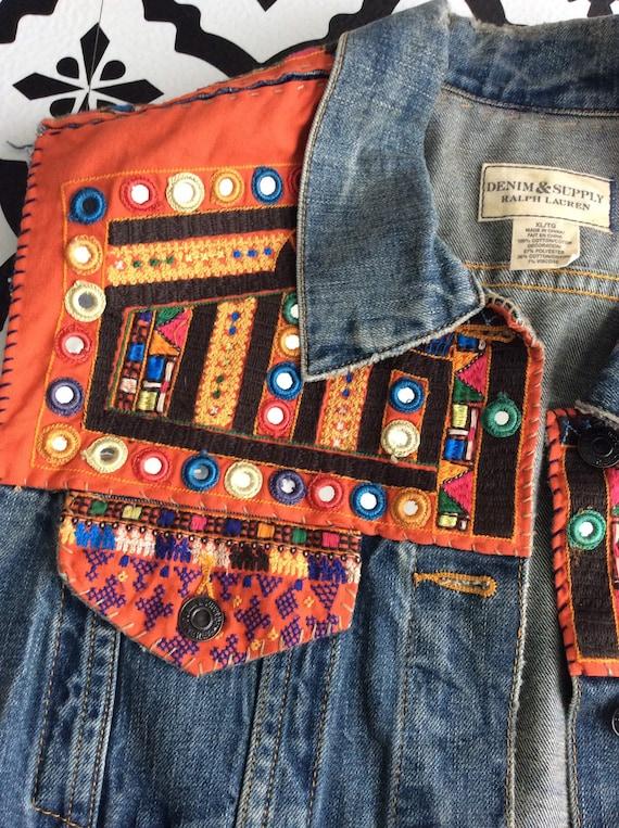 Vintage Ralph Lauren Denim & Supply tribal denim … - image 5