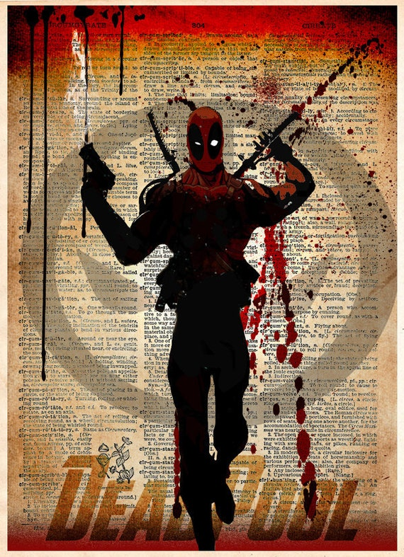 "Deadpool 2 X-men Comic Hero Movie 36/"" x 24/"" Large Wall Poster Print Decor"