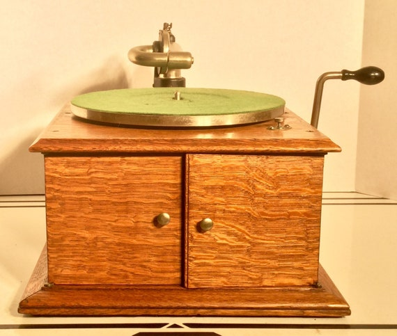 Antique Rare Victor Table Top Victrola Model Vv Iva In Etsy
