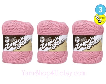 Pengouin cotton mousse pink cotton yarn bright pink yarn bright pink dk cotton dk yarn pink dk yarn pink cotton thick and thin yarn