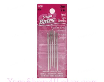 Susan Bates Tapestry Needles Size 20-2 Sets of 6 Per Package