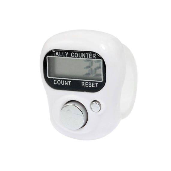 White Digital Finger Tally Counter Digital Row Counter Etsy