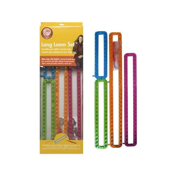 SALE Set of 4 Knitting Looms Boye Long Loom Set Includes 4