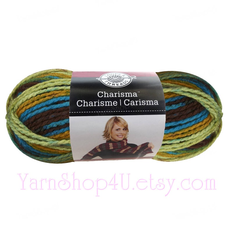 Brown Acrylic Yarn with Loops for Body and Texture