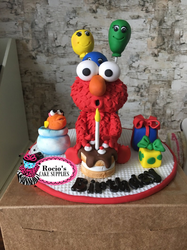 Elmo Birthday Cake Topper