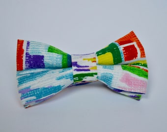 Multi-Coloured Bow Tie