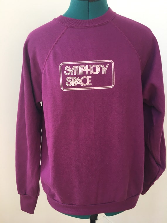 Vintage Symphony Space purple sweatshirt