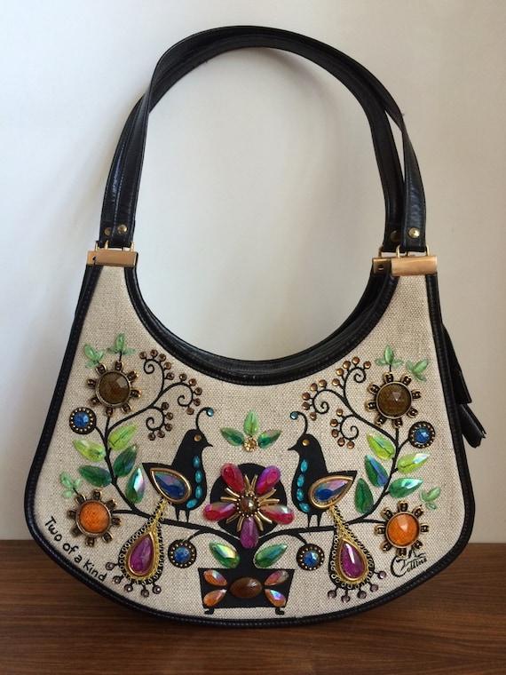 Very rare Enid Collins bird purse