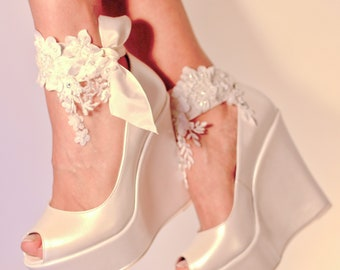 1a8fef8a3624 Ivory wedding shoes