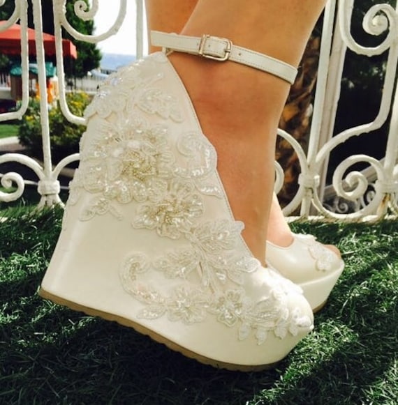 dfc2e04312f Wedding Wedding Shoes Bridal Shoes Ivory Wedding Shoes