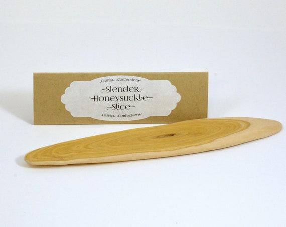 Slender Honeysuckle Wood Slice Cat Toy