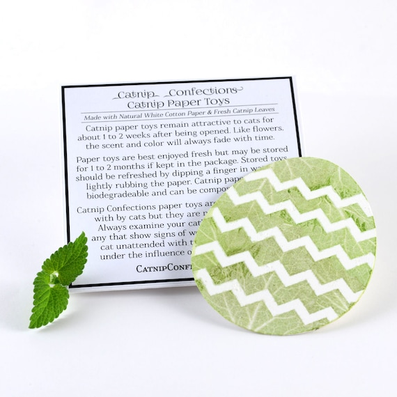 Catnip Paper Easter Egg Cat Toy