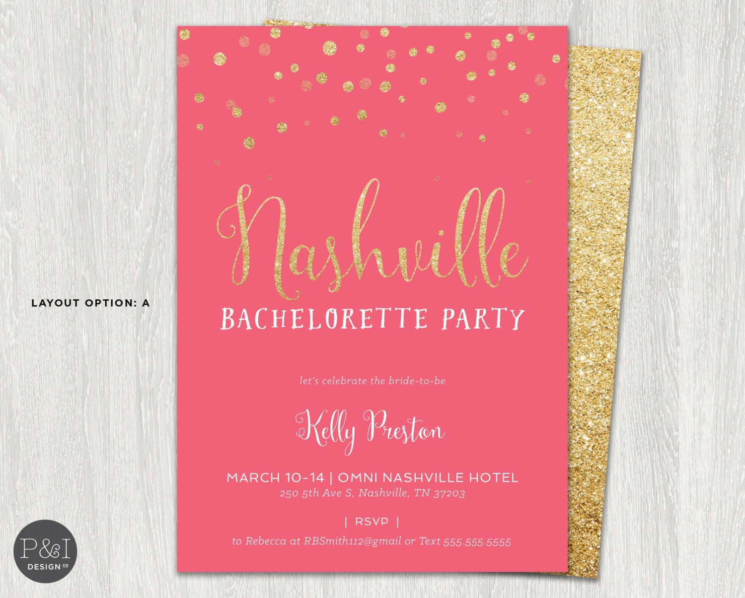 Awesome Bachelorette Party Invitation Templates Gift - Invitations ...