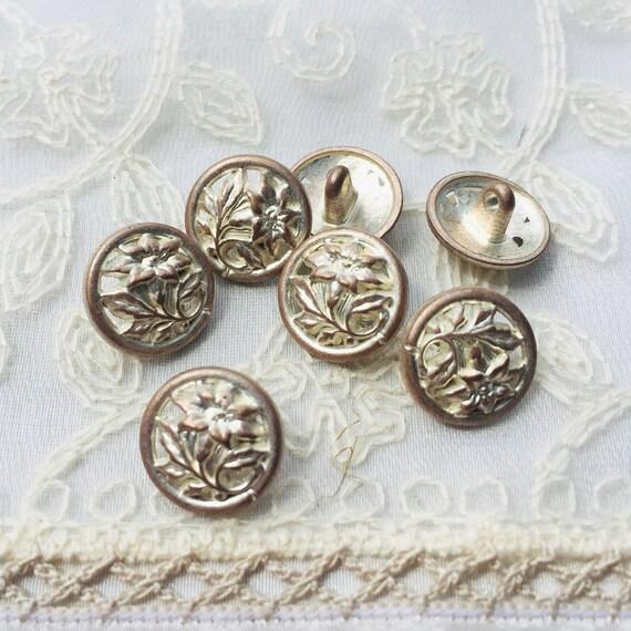 50 filigrana metal perlas spacer perlas 8mm alrededor de plata entre perlas m519