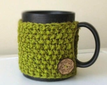 Coffee Cozy, Knit Cup Cozy, Hygge Decor, Eco-Friendly, Coffee Sleeve, Tea Cozy, Coffee Cup Sleeve, Coffee Mug Cozy, Sister Gifts for mother