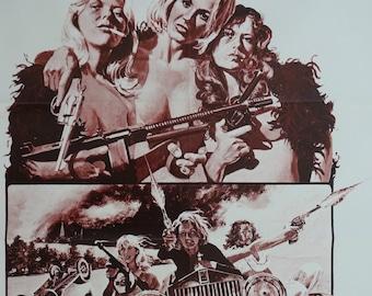 "1975 ""Big Bad Mama"" Movie Poster - Original Vintage Poster"