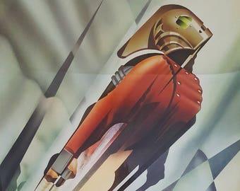 1991 Rocketeer Movie Poster 1sh - Original Vintage Poster