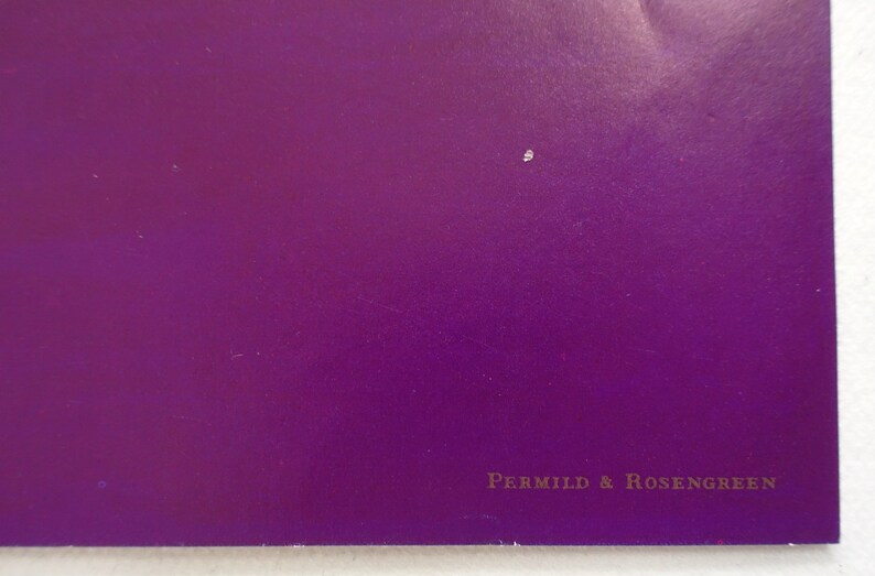 1983 Wiinblad/'s The Toledo Symphony Original Vintage Poster
