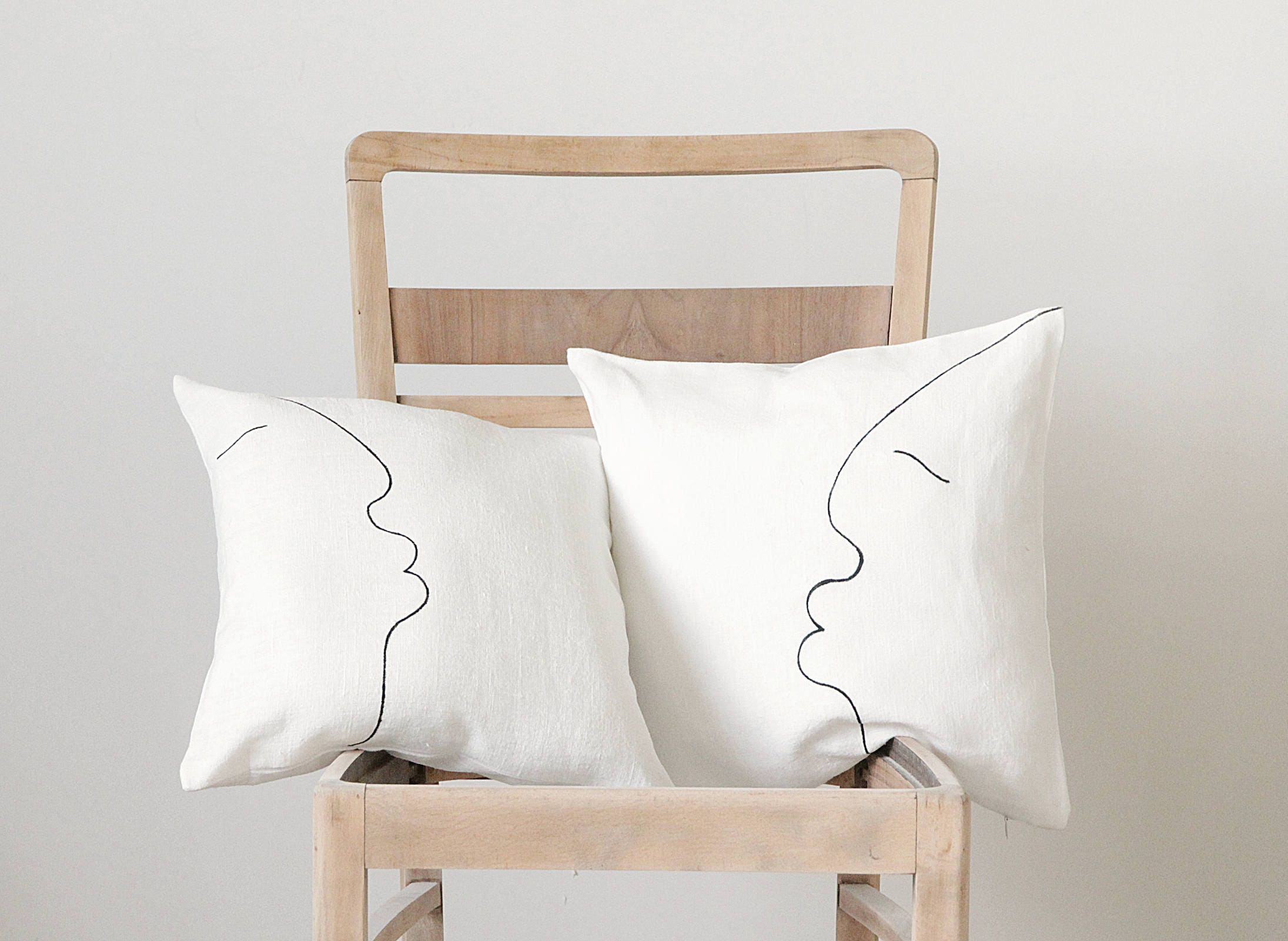 Modern Pillow Cover Minimalist Modern Throw Pillows Covers Etsy