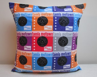 """Tamla Motown Northern Soul Vinyl Records Cushion Cover Pillow Cover 16"""""""