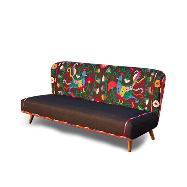 Merveilleux Bohemian Suzani Sofa, Patchwork Furniture, Boho Sofas