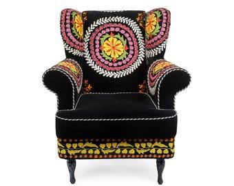 Velvet Chair Etsy