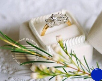 Velvet Ring Box, Bridesmaid Gift, Bridal Gift, Gifts for the Bride, Engagement Ring Box, Wedding Gift