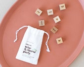 JoJo Fletcher x Etsy Wine & Cheese Foodie Dice Game - Pre-order Ships 11/4