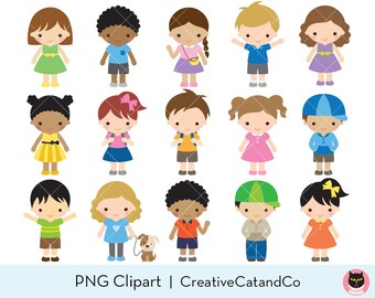 Commercial and Personal Use Huge Pack of African American Female Student Clipart Clip Art Classroom Clipart Teacher Clipart